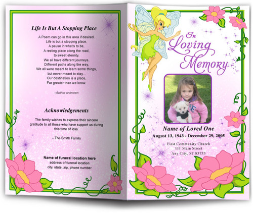 fairy funeral program