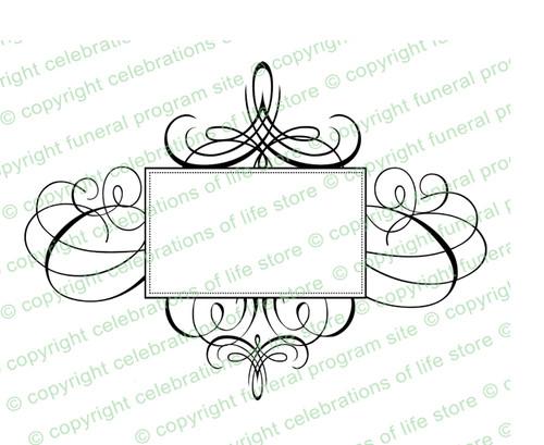 Aria Elegant Vector Flourish Border