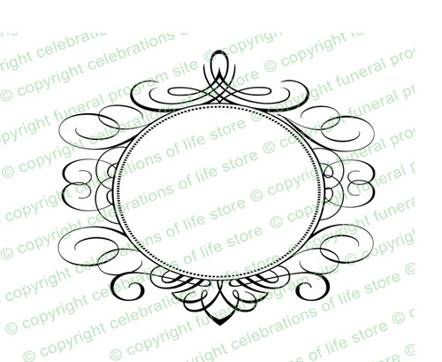 Olivet Elegant Vector Flourish Border