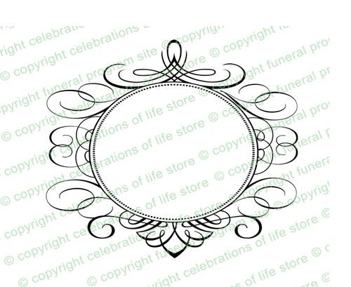 Olivet Elegant Vector Flourish Border