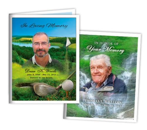 Custom Small Memorial Card Template | Funeral Templates