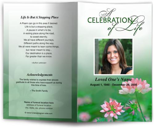 ambrosia funeral program site