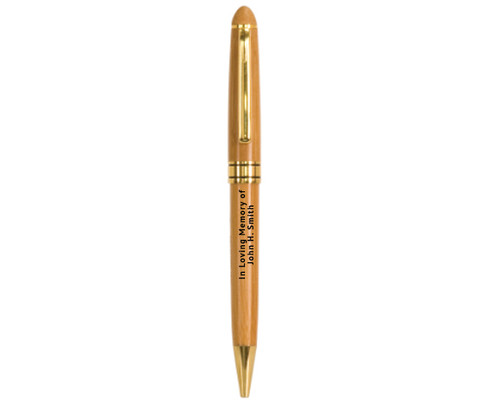 In Loving Memory Memorial Pens | Wooden Bamboo Pen