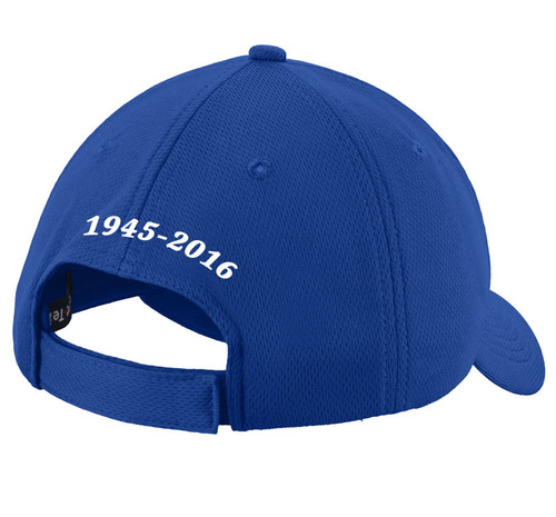 Always In My Heart Embroidered Memorial Baseball Caps back view