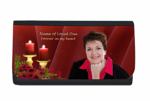 Candlelight Personalized In Loving Memory Personalized Wallets