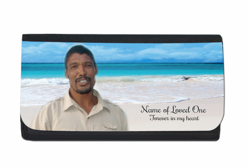 Caribbean Personalized In Loving Memory Personalized Wallets