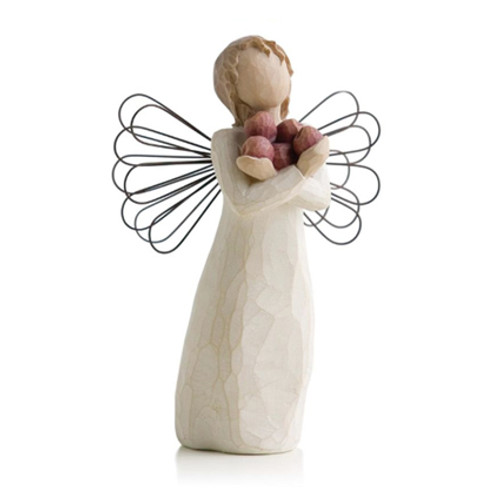 Abundance Angel Willow Tree Figurines view 2