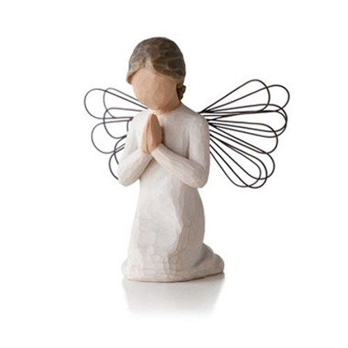 Angel of Prayer Willow Tree Figurines view 4