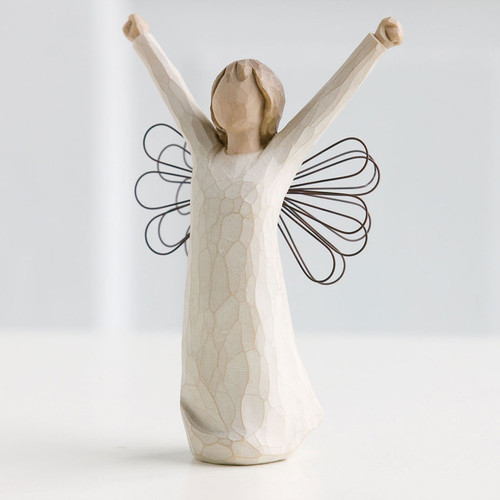 Courage Personalized Angel Willow Tree Figurines