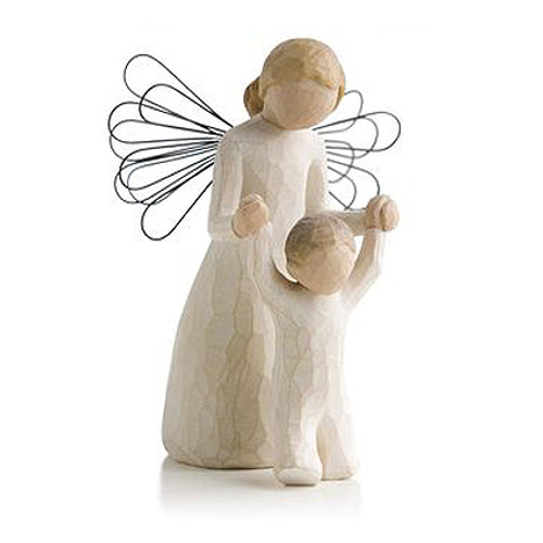 Guardian Personalized Angel Willow Tree Figurines view 2