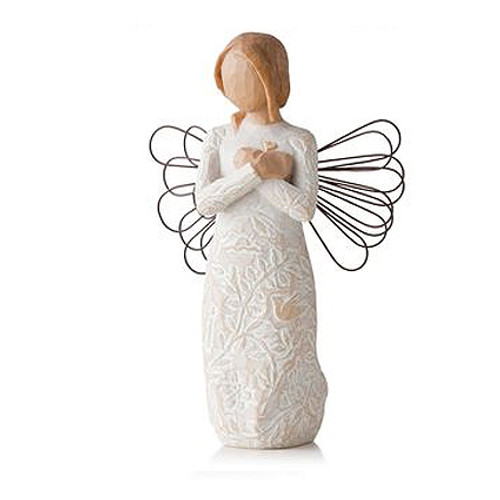 Remembrance Personalized Angel Willow Tree Figurines view 2