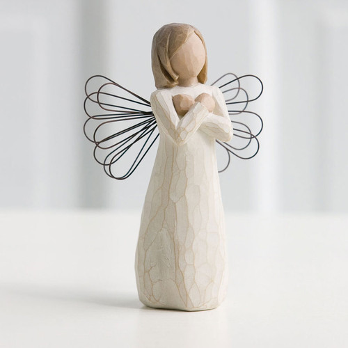 Sign For Love In Loving Memory Willow Tree Figurines
