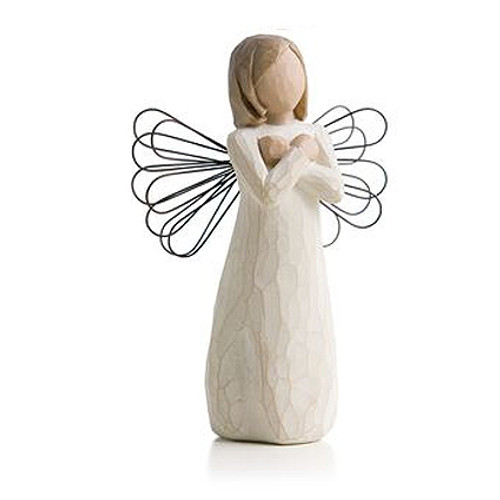 Sign For Love In Loving Memory Willow Tree Figurines view 2