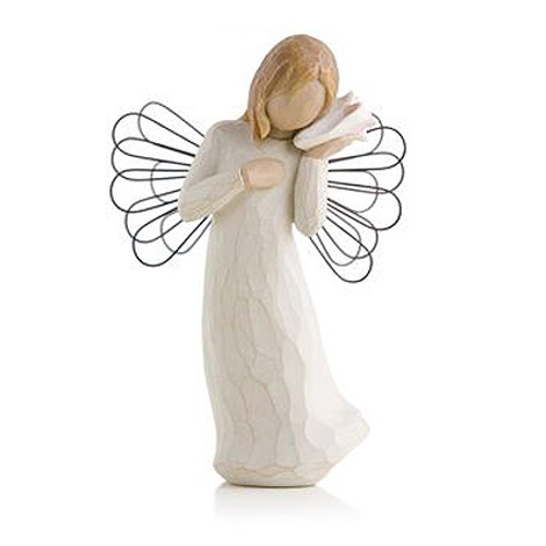 Thinking of You In Loving Memory Willow Tree Figurines view 2