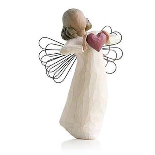 With Love In Loving Memory Angel Willow Tree Figurines view 2