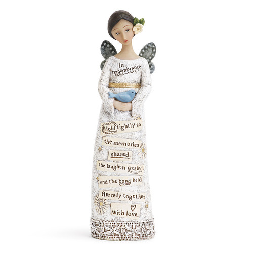 In Remembrance In Loving Memory Angel Figurines