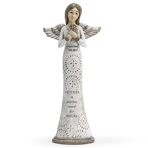 Mother In Loving Memory Angel Figurines