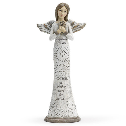 Mother In Loving Memory Angel Figurines
