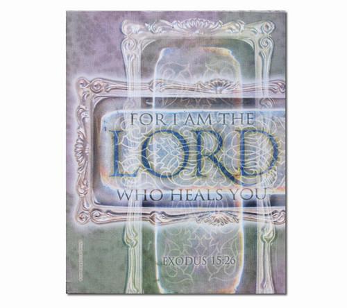 Lord Who Heal Faith Religious Inspirational Canvas Art