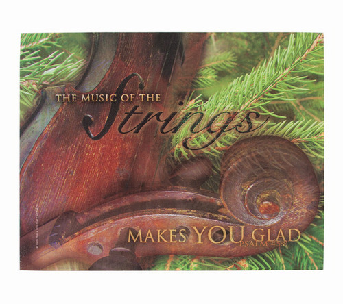 Music of the Strings Faith Inspirational Canvas Art