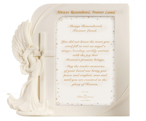 Always Remembered, Forever Loved Memorial Frames