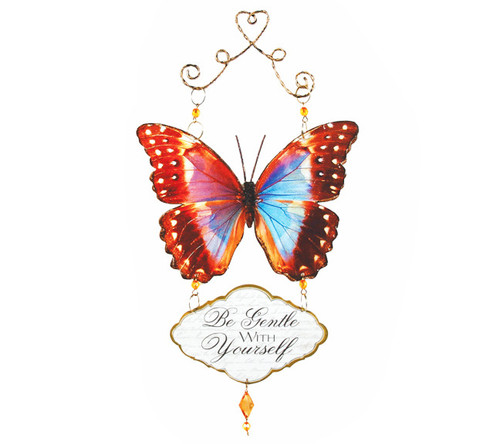In Loving Memory Memorial Blessed Butterfly Decorations