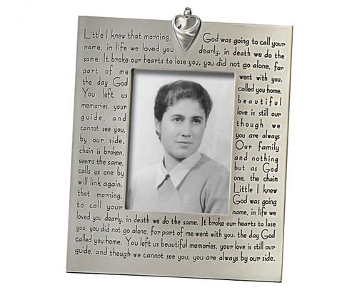 Millennium In Loving Memory Photo Memorial Frames