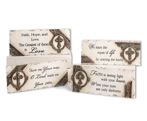 Verse Desk In Loving Memory Memorial Plaques