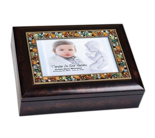 Angelo Jewel Music In Loving Memory Memorial Keepsake Box