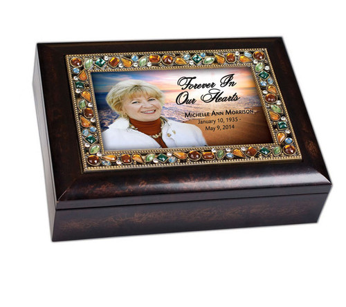 Radiance Jewel Music Memorial Keepsake Box