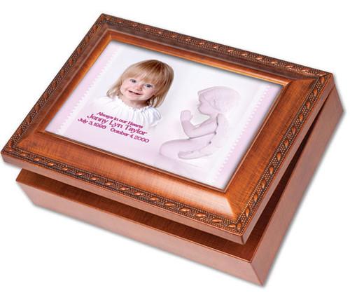 Angela Keepsake & In Loving Memory Memorial Music Box