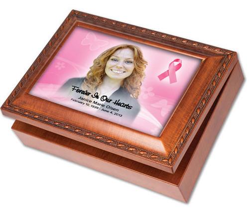 Awareness Keepsake & In Loving Memory Memorial Music Box
