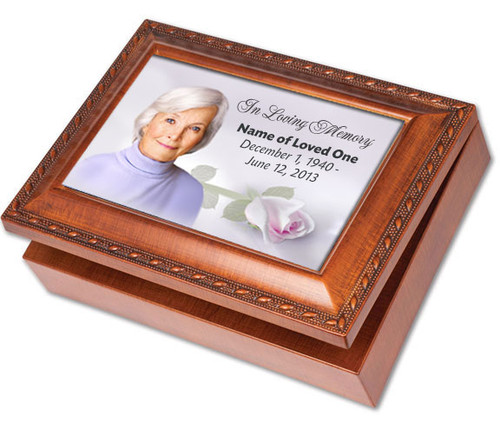 Beloved Keepsake & In Loving Memory Memorial Music Box