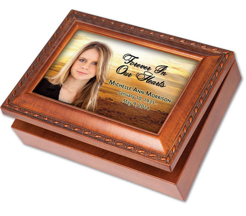 Shine Keepsake & In Loving Memory Memorial Music Box