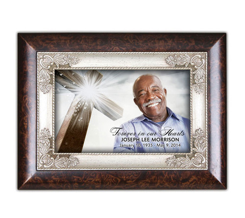 Eternal Silver In Loving Memory Music Keepsake Box
