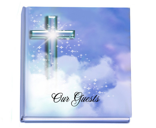 adoration funeral guest book