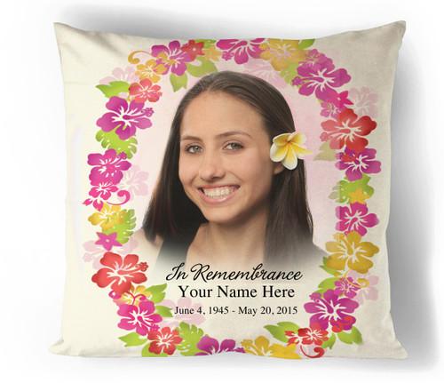 Aloha In Loving Memory Memorial Pillows
