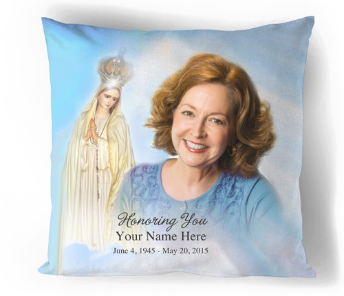 Blessed Personalized In Loving Memory Memorial Pillows