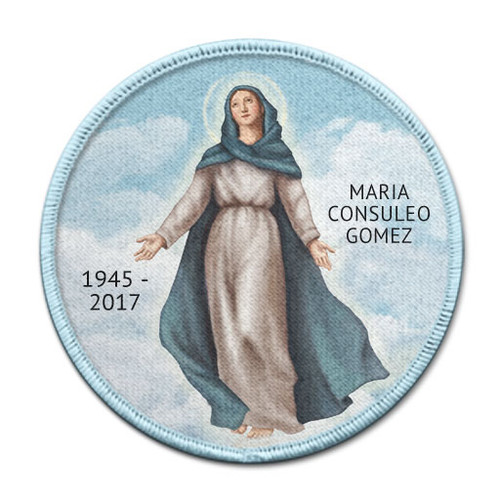 Catholic Blessed Mary Memorial In Memory of Patches