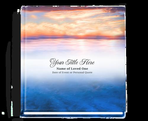 Dusk funeral guest book