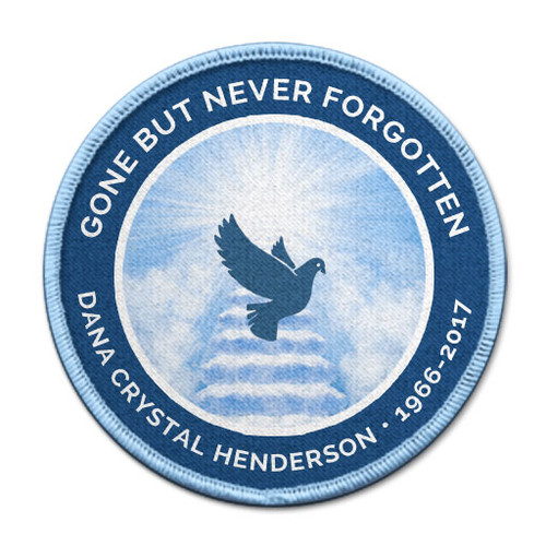 Heavenly Dove In Memory Of Patches
