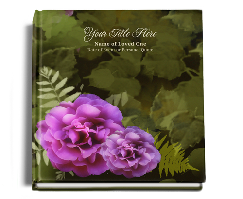 Essence funeral guest book