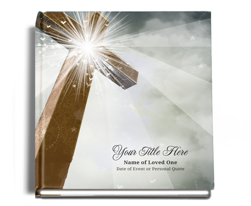 Eternal funeral guest book