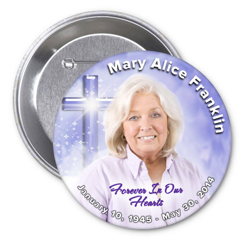 Adoration Memorial Buttons