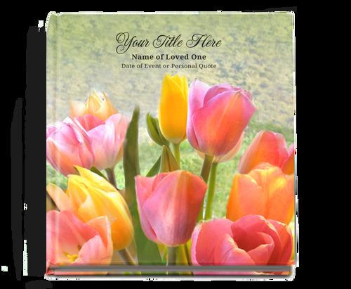 Harvest Graceful funeral guest book