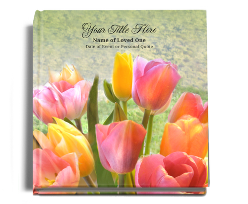 Harvest Graceful funeral guest book