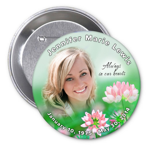 Ambrosia Memorial Button Pins