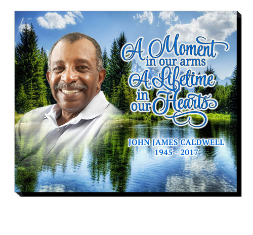 Outdoors 20x16 In Loving Memory Memorial Plaques