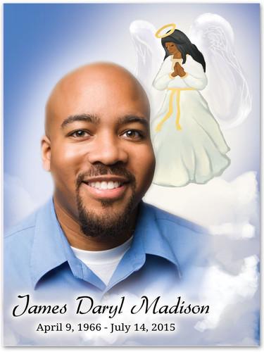Angel Memorial Portraits Poster