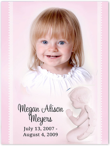 Angela Memorial Portraits Poster